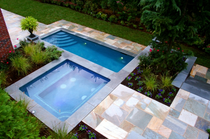 1001 ideas de piscinas peque as para tu patio for Ideas para piscinas pequenas
