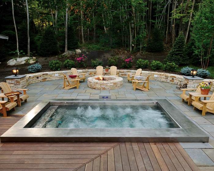 1001 ideas de piscinas peque as para tu patio for Ideas para decorar piscinas