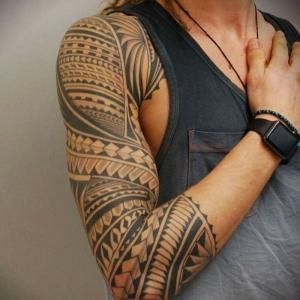 Tatuajes maories y polinesios - significado e ideas de diseño