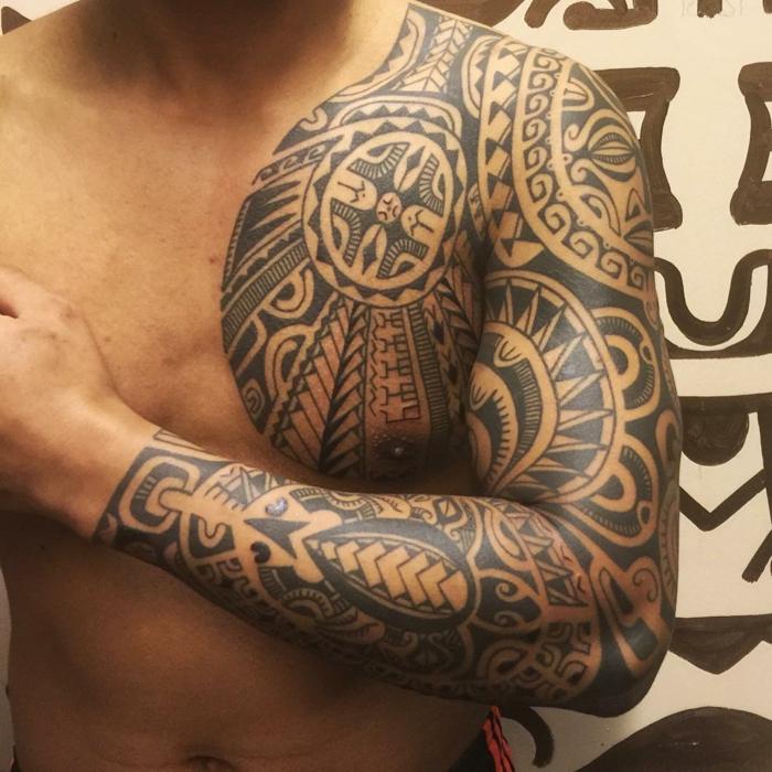 Tatuaje Maori Brazo Top Cool Tatuajes Maories Hombro Plantillas