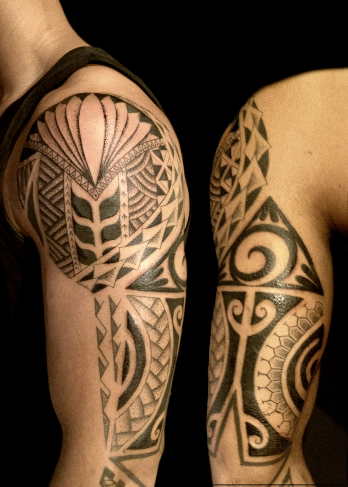 1001 ideas de tatuajes maories y su significado en la for Tortuga maori