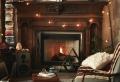 70 ideas de salones acogedores con chimeneas de leña