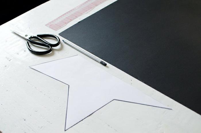 estrellas de papel, materiales necesarios para elaborar una decoración tridimensional en forma de estrella
