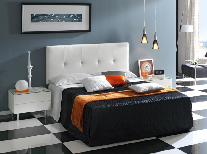 Cabeceros cama modernos cabecero hecho con un mueble - Cabeceros originales ...