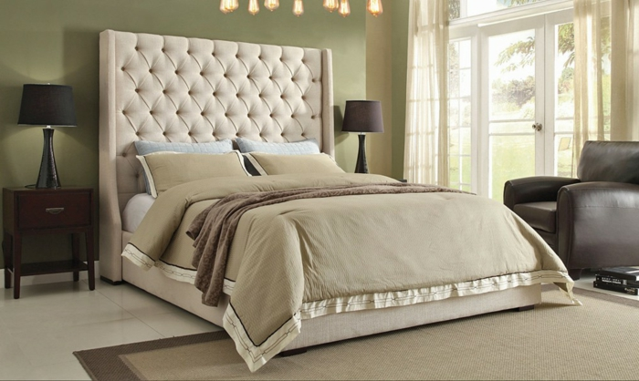 Cabezales de cama matrimonio cabecero cama matrimonio - Cabezales de tela ...