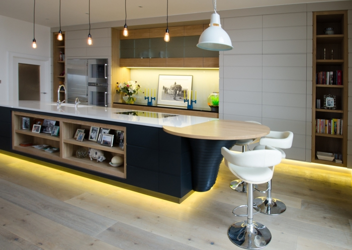 kitchen mood lighting 1001 ideas de decoraci 243 n de cocina americana 2320