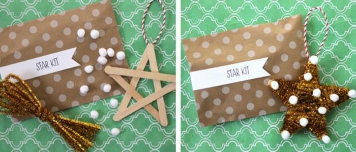 manualidades sencillas, ideas navideñas DIY para los pequeños, bonitas decoraciones simples de hacer