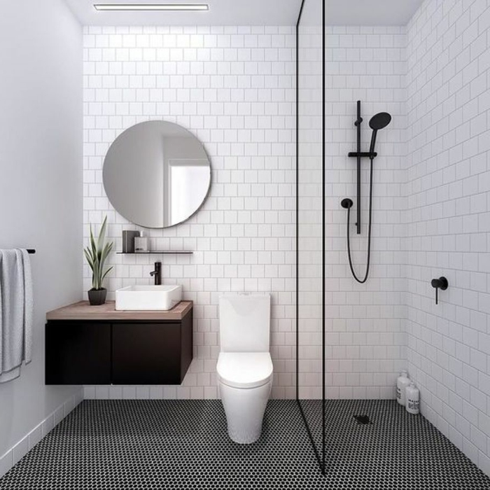 1001 ideas de duchas de obra para decorar el ba o con estilo for Duchas modernas 2018
