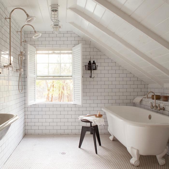 1001 ideas de duchas de obra para decorar el ba o con estilo - Ducha doble ...