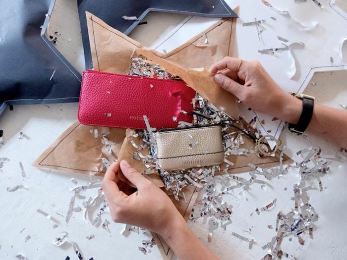 estrella navidad, regalos embalados en papel en forma de estrella, manualidades fáciles y originales para navidad