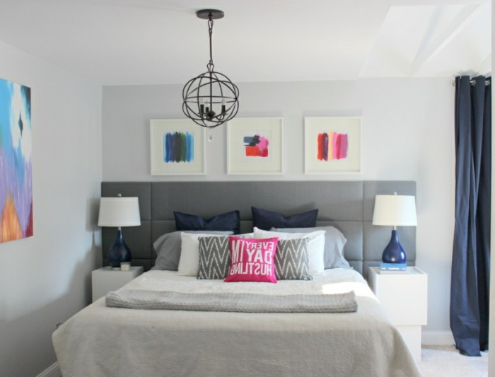 Cabeceros modernos cama matrimonio good dormitorio de - Cabeceros modernos originales ...