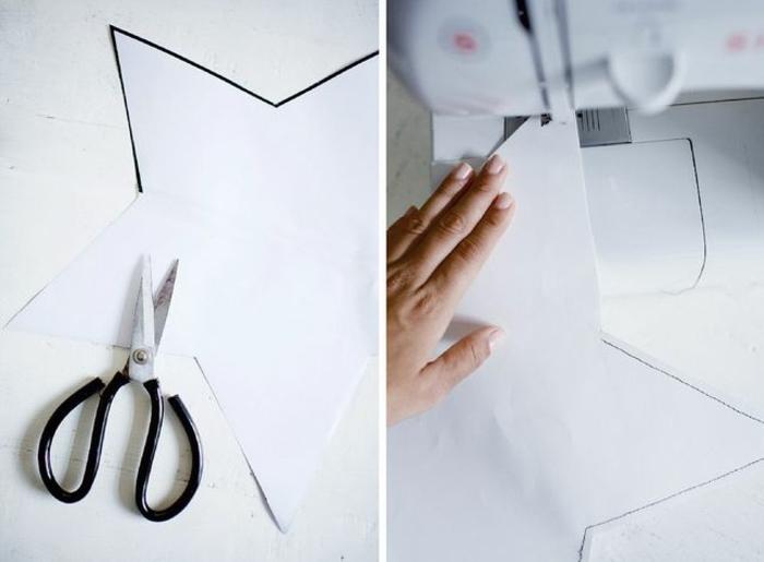 como hacer estrellas de papel., tutorial con las instrucciones para hacer un empaquetado atractivo en forma de estrella