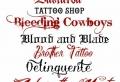 Letras para tatuajes – ideas de fuentes y tipos de tatuajes