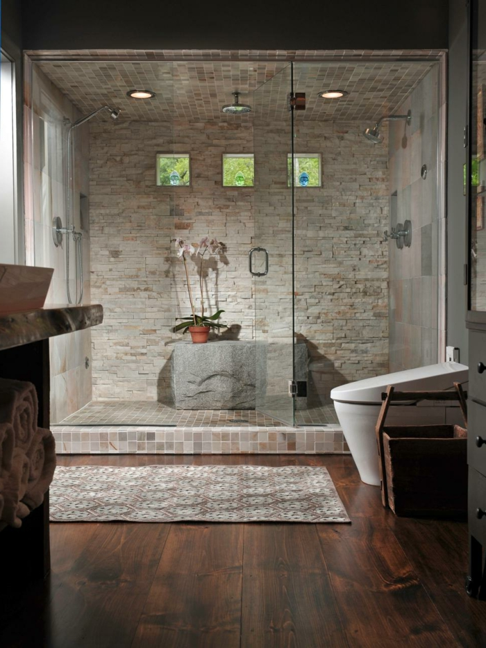 1001 ideas de duchas de obra para decorar el ba o con estilo On ideas duchas
