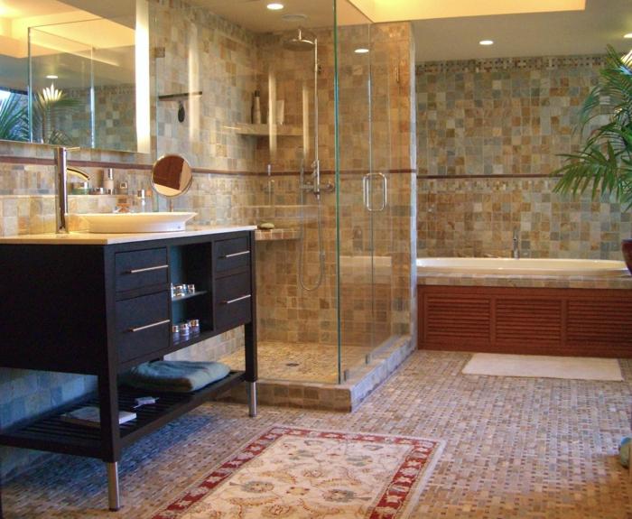 1001 ideas de duchas de obra para decorar el ba o con estilo - Cuanto cuesta el material para construir una casa ...