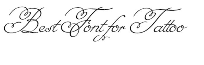 letras tatuajes, ejemplo de fuente de letras para tatuajes, estilo cursiva tipo escritura a mano