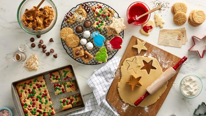 galletas navideñas, materiales y productos para hacer galletas de navidad en diferentes formas y colores