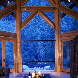 Cabañas de madera - propuestas encantadoras de cabañas del bosque