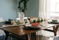 Centros de mesa – 100 ideas preciosas sobre decoración de la mesa navideña
