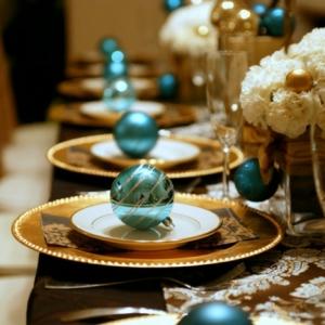 Centros de mesa - 100 ideas preciosas sobre decoración de la mesa navideña