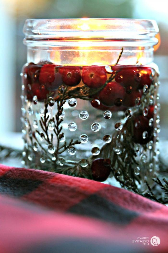 centros de navidad, etapas para hacer un ornamento decorativo para la mesa de Navidad, manualidades faciles