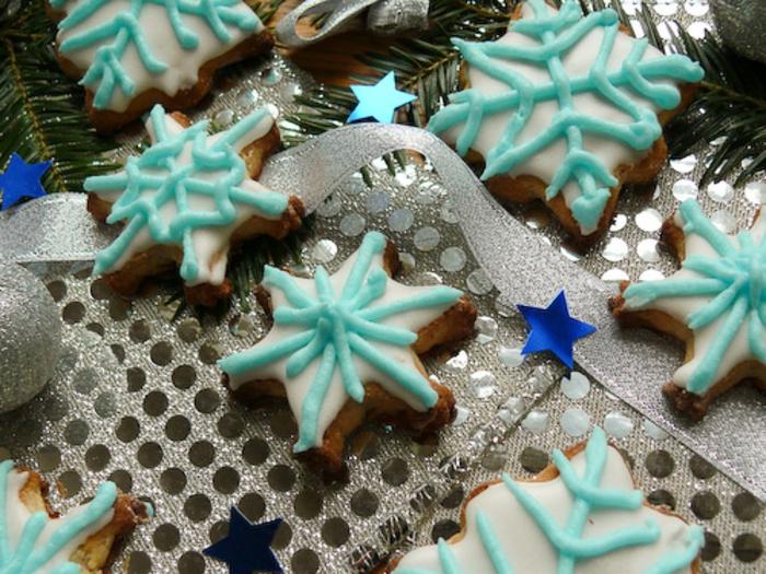 galletas de navidad, ideas originales para navidad, decoracion casera con galletas decoradas de glaseado