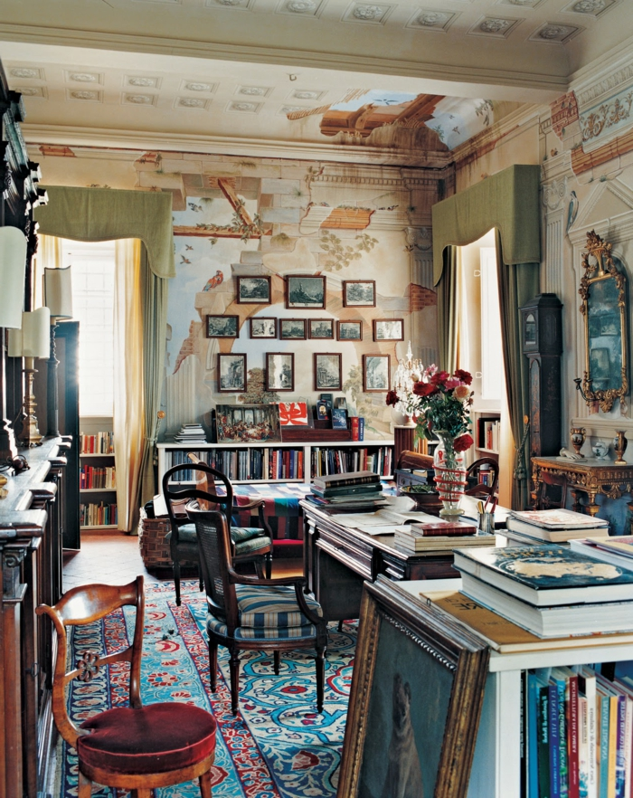 Decoracion paredes salones modernos fabulous decoracin de - Decoracion paredes salones ...