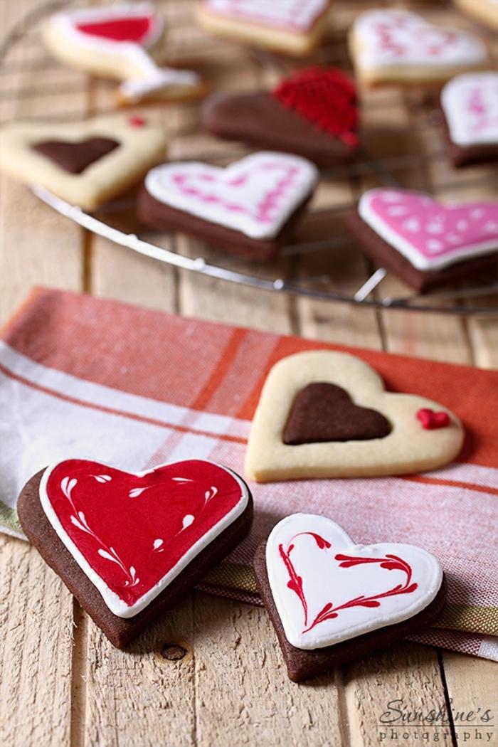galletas faciles de hacer, variadades de ideas para decorar las galletas navideñas, ideas DIY