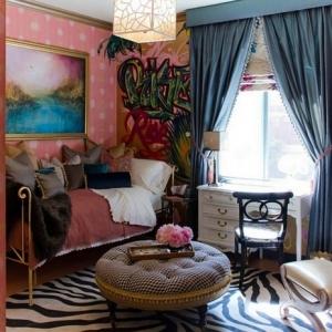 Salones modernos - ideas preciosas de interiores en estilo bohemio