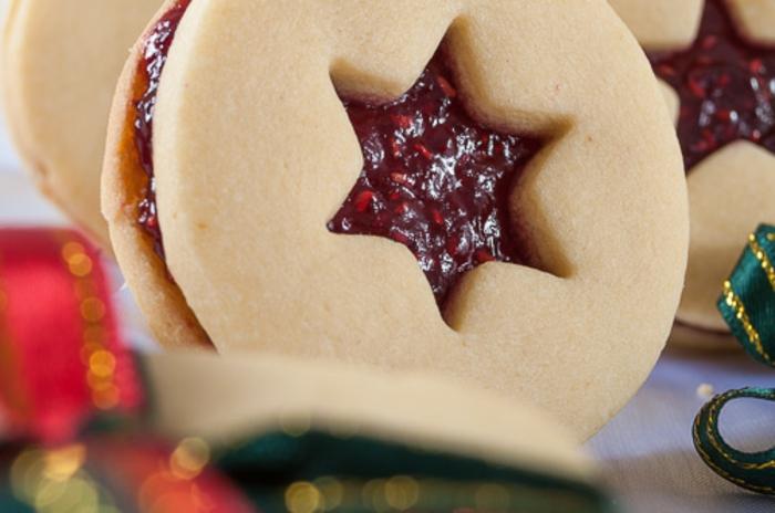 galletas de mantequilla receta, galletas de mantequilla, receta, clásica con mermalada, decoracion de estrella