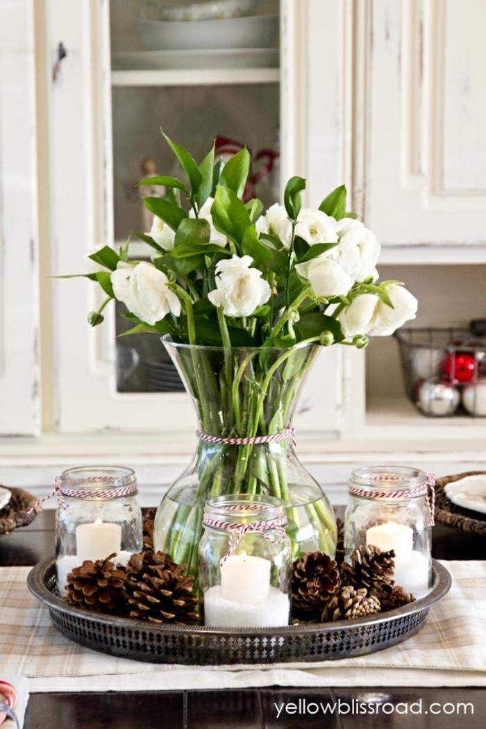 Centros de mesa 100 ideas preciosas sobre decoraci n de - Decoracion de centros de mesa ...