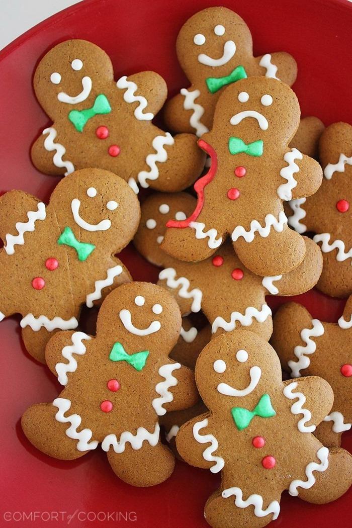 receta galletas de mantequilla, propuestas originales Navidad 2017, galletas navideñas fáciles de hacer