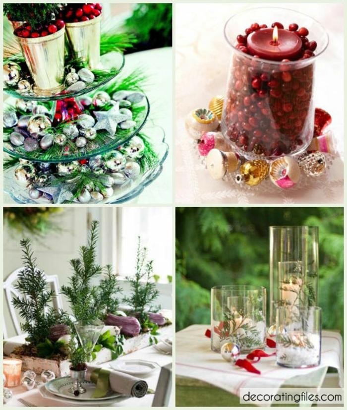 Centros de mesa 100 ideas preciosas sobre decoraci n de la mesa navide a - Centros navidenos originales ...