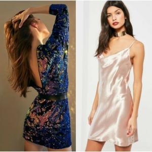 Vestidos Nochevieja - propuestas en tendencia para lucir encantadora en la fiesta