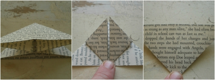 manualidades con papel, instrucciones para hacer una mariposa con papel reciclado, paso a paso, manualidades fáciles