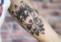 Modernos y originales tatuajes de lobos