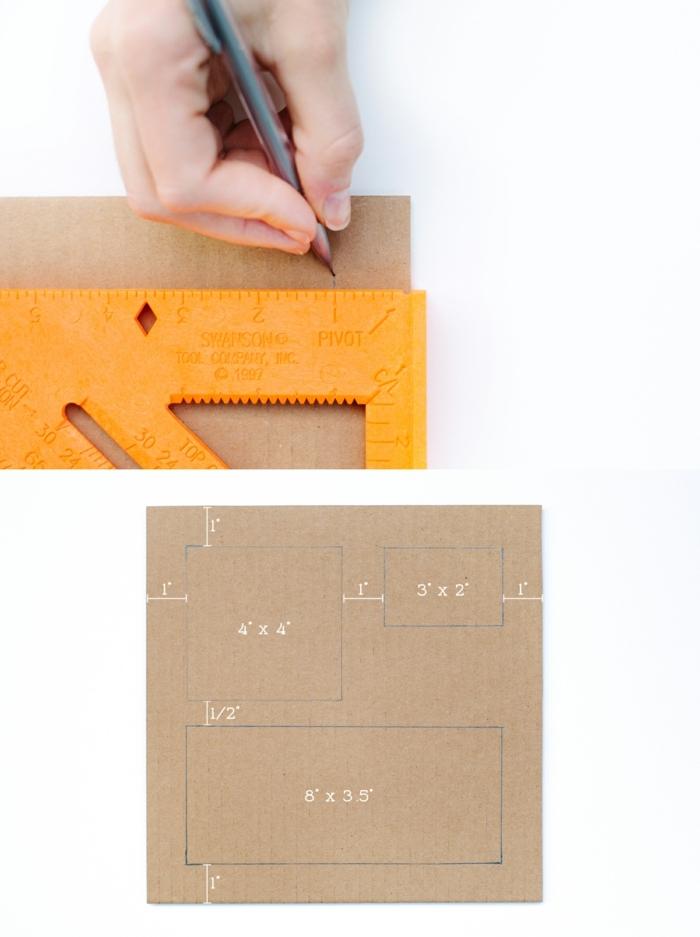 como hacer cosas de papel, manualidad con cartón reciclado, organizador de escritorio, tutorial paso a paso