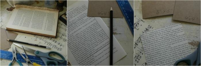 como hacer cosas de papel, reciclar libros viejos, tutorial para hacer jarrón decorativo con hojas de libro viejo
