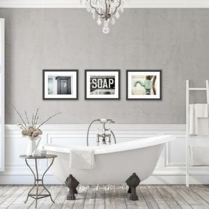 Cuadros para baños - decoración moderna y original