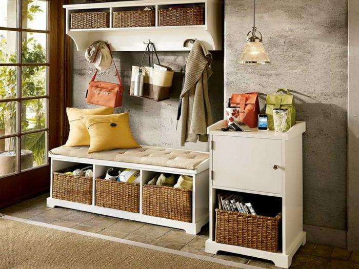1001 ideas de recibidores originales con encanto - Muebles recibidores de diseno ...