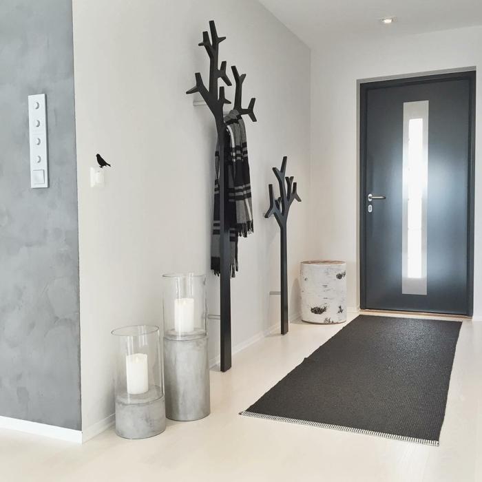 Percheros para entrada casa nada mejor que una buena idea para decorar la pared de la entrada - Mueble perchero entrada ...