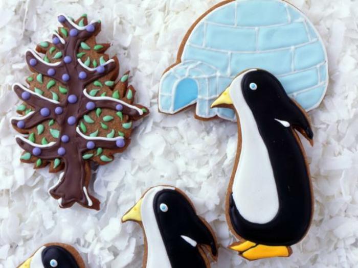 receta galletas mantequilla, decoracion original para navidad,galletas con glaseado en diferentes colores