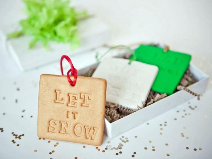receta galletas mantequilla, decoracion original para la mesa navideña, galleta con letras