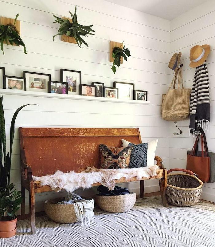 1001 ideas de recibidores originales con encanto - Recibidores con estilo ...