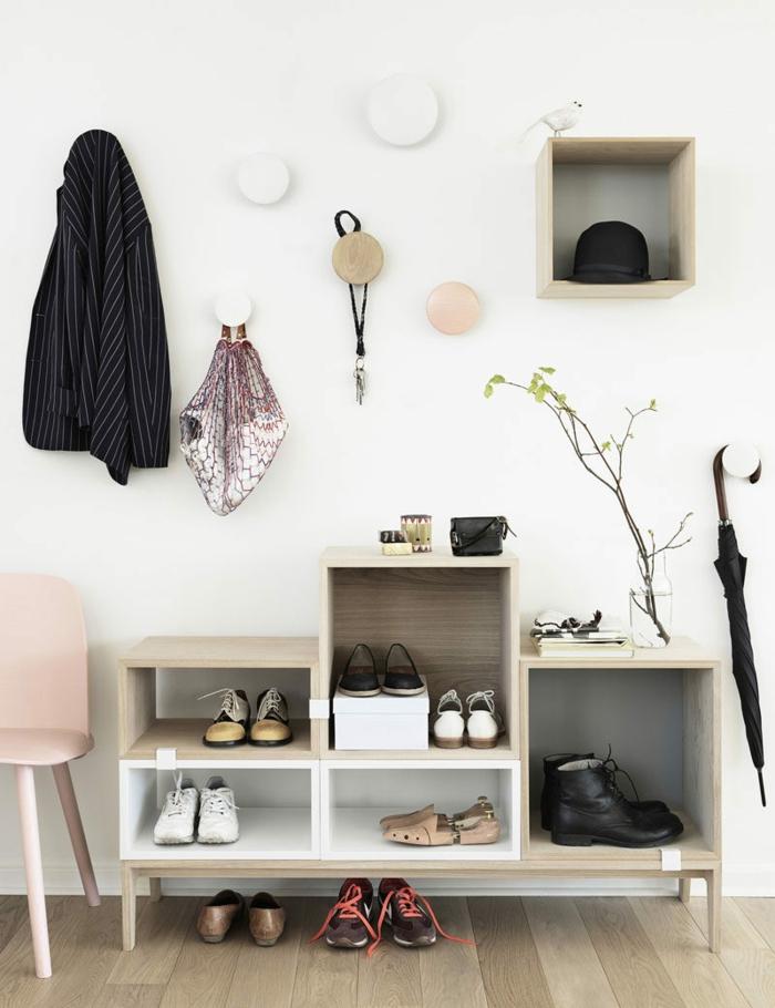top muebles recibidor decoracin nrdica estantes para zapatos silla minimalista rosada ganchos de with decoracion de entradas y pasillos modernos with