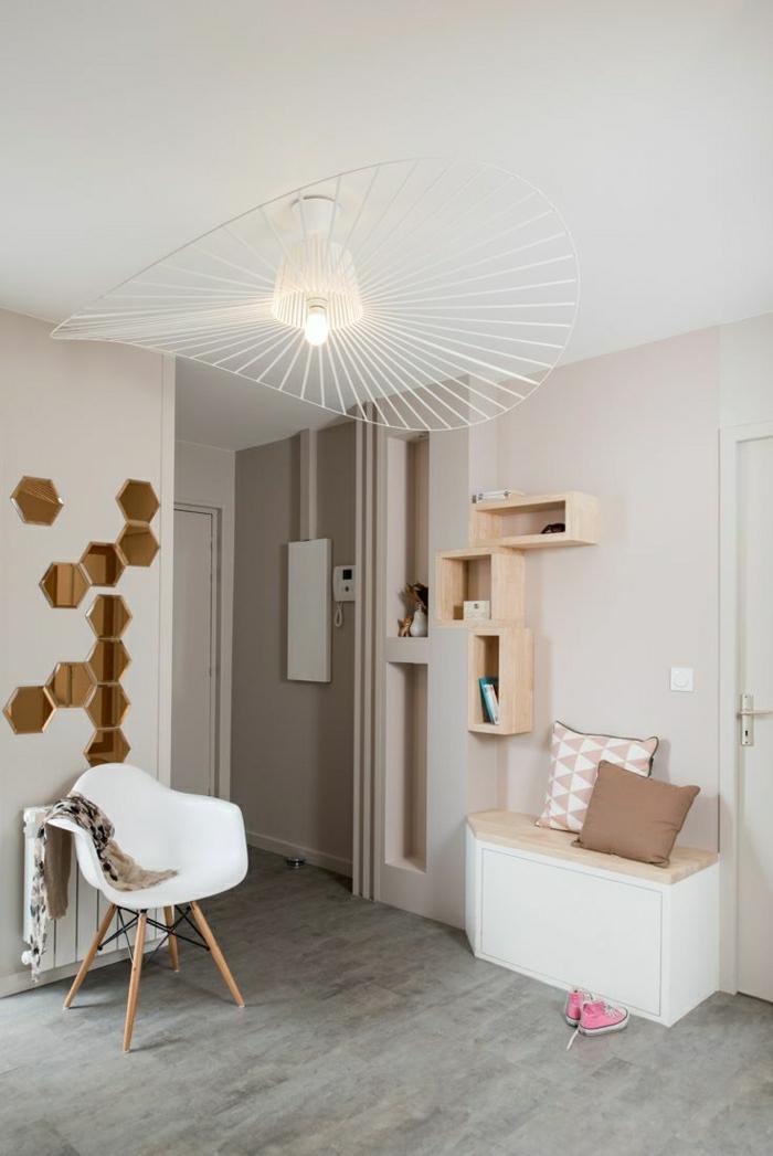 1001 ideas de recibidores originales con encanto. Black Bedroom Furniture Sets. Home Design Ideas