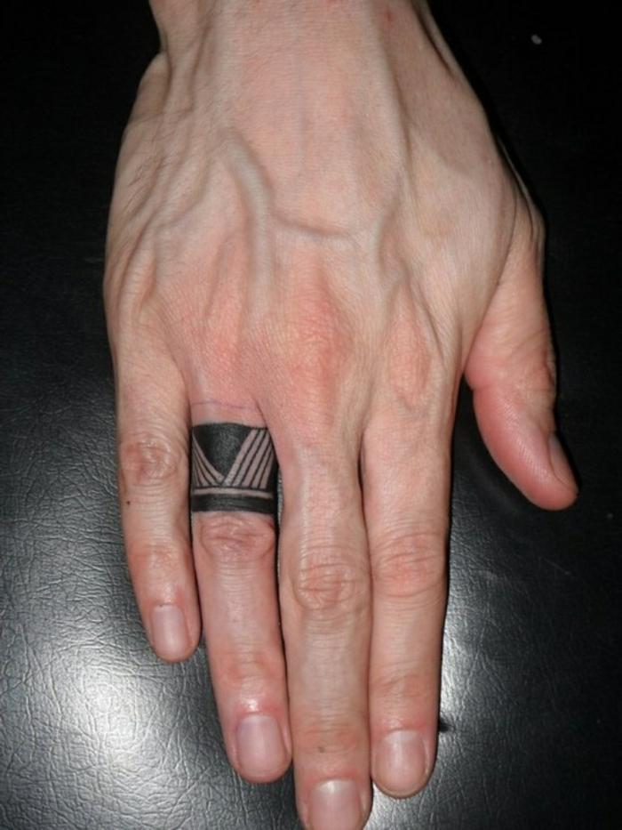 dedo hombre