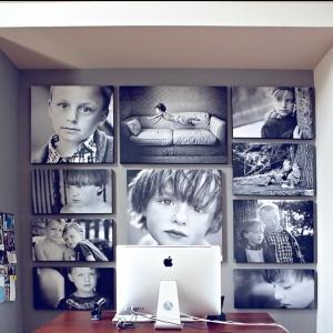 Ideas para decorar con fotos - 70 propuestas de encanto para tu hogar