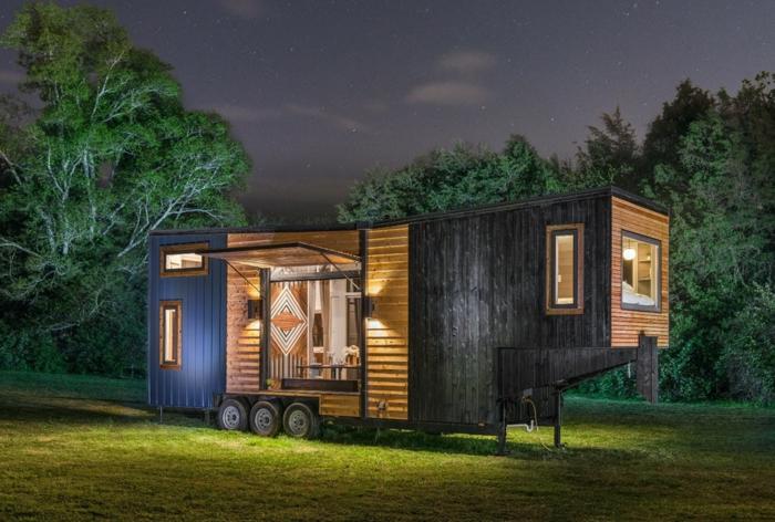 1001 ideas espectaculares de dise os de minicasas - Casas moviles de madera ...