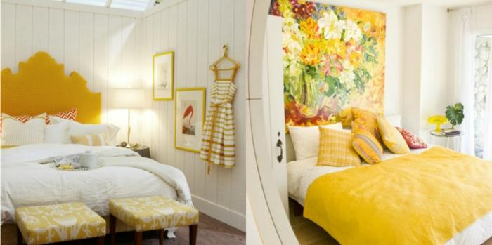 1001 ideas de decoraci n con cuadros para dormitorios - Ikea cuadros grandes ...